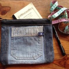 Atelier à la campagne Bleu jean
